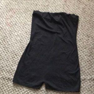 shorts halter onesie